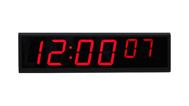 NTP digital clock